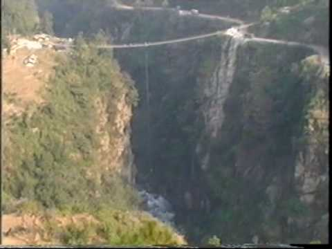 Bungee jumping in Nepal By : Ghale Treks