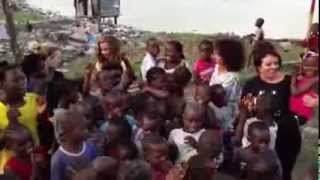 Word Up! Little Mix singing in Liberia