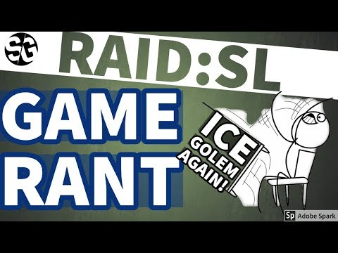[RAID SHADOW LEGENDS] RANT - RAID NEEDS TO CATCH UP!