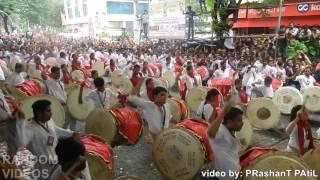 Chinchpokli cha Chintamani 2016 Shivbramhand Dhol Tasha pathak 150 Dhol #Record