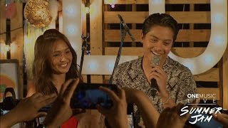 """""""Can't Help Falling In Love """" by KathNiel   One Music Live Summer Jam"""