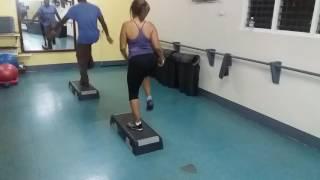 Step aerobic 2017 #3