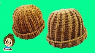 ถั�หมว�พระไหมพรมโครเชต์ไหมดาหลา How to Crochet  Hat
