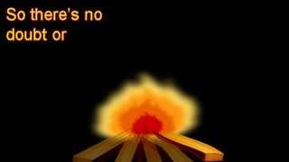 Unspoken - Start a fire w/real time lyrics