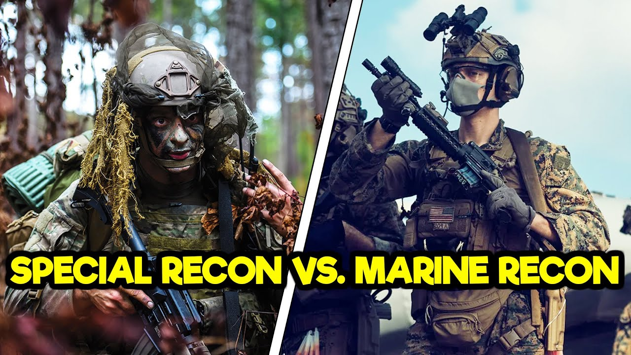 Air Force Special Recon Vs. Marine Recon