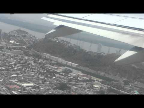 TACA taking off from Guayaquil, Ecuador HD