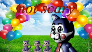 how to make five nights at candy's not scary
