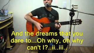 Somewhere Over The Rainbow (with lyrics) Israel Kamakawiwoole Version/ Felipe Cassanta