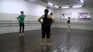 Ballet - Mylla Agridoce , Lucy Malaquias , Raquel Nascimento e Sara Pimpolha . (aquecimento)