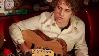 "Kevin Morby plays ""Our Moon"" backstage @ Doug Fir Lounge"