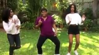 Johnny Lever Dancing on Dancehall Song Johnny - Youtube width=