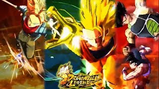 All New Summon Animations in Dragon Ball Legends ★ SSJ3 Goku Dragon Fist, Bardock & Future Trunks