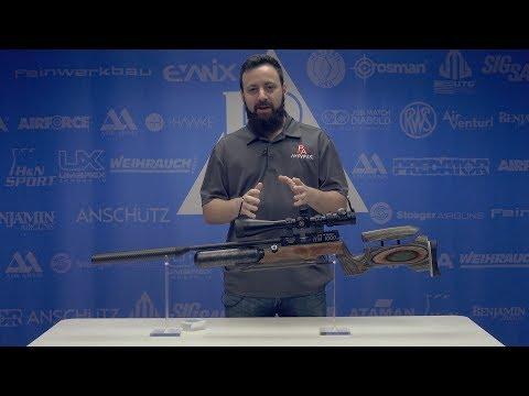 Video: RAW HM1000x LRT .25 cal Air Rifle   Pyramyd Air