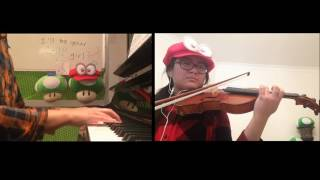 Jump Up, Super Star! ~Super Mario Odyssey~ Piano and Violin Cover