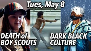 Childish Gambino's Ugly Rap Vid | Black Intellectuals: Kanye's Free Thinking Is White | Tue. May 8