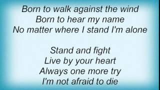 Manowar - Heart Of Steel Lyrics