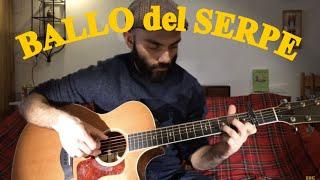 Italian folk music - Ballo del serpe - Fingerstyle guitar