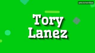 TORY LANEZ - HOW TO PRONOUNCE IT!? (HIGH QUALITY VOICE)