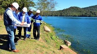 El Gobierno construye en Yacuy, el acueducto que solucionará el abastecimiento de agua en Tartagal