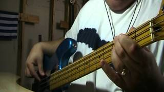 Queen Another One Bites The Dust Bass Cover