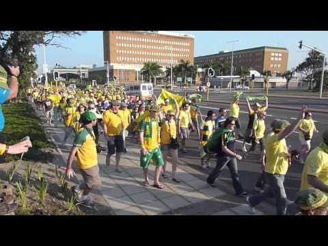 FIFA  2010  World Cup South Africa – fanatics Tent city Durban