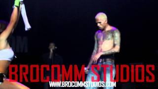 Chris Brown Lapdance
