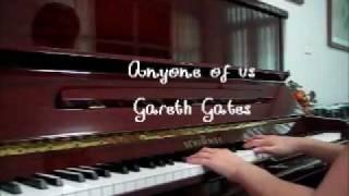Gareth Gates - Anyone of us (Piano Cover).wmv