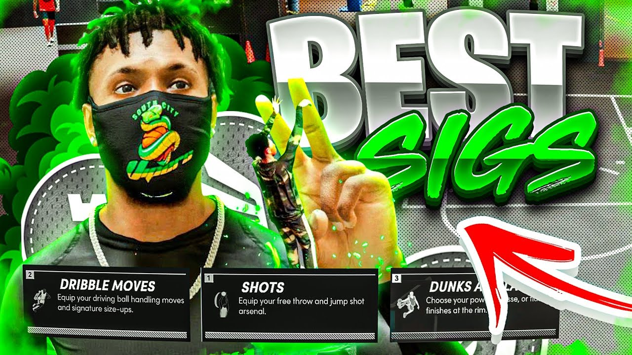 DnellTV - BEST JUMPSHOT & DRIBBLE MOVES FOR NBA 2K21 NEXT GEN! BEST SIGNATURE STYLES/ANIMATIONS!