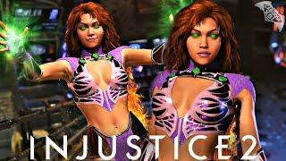 Injustice 2 - STARFIRE GAMEPLAY TRAILER!