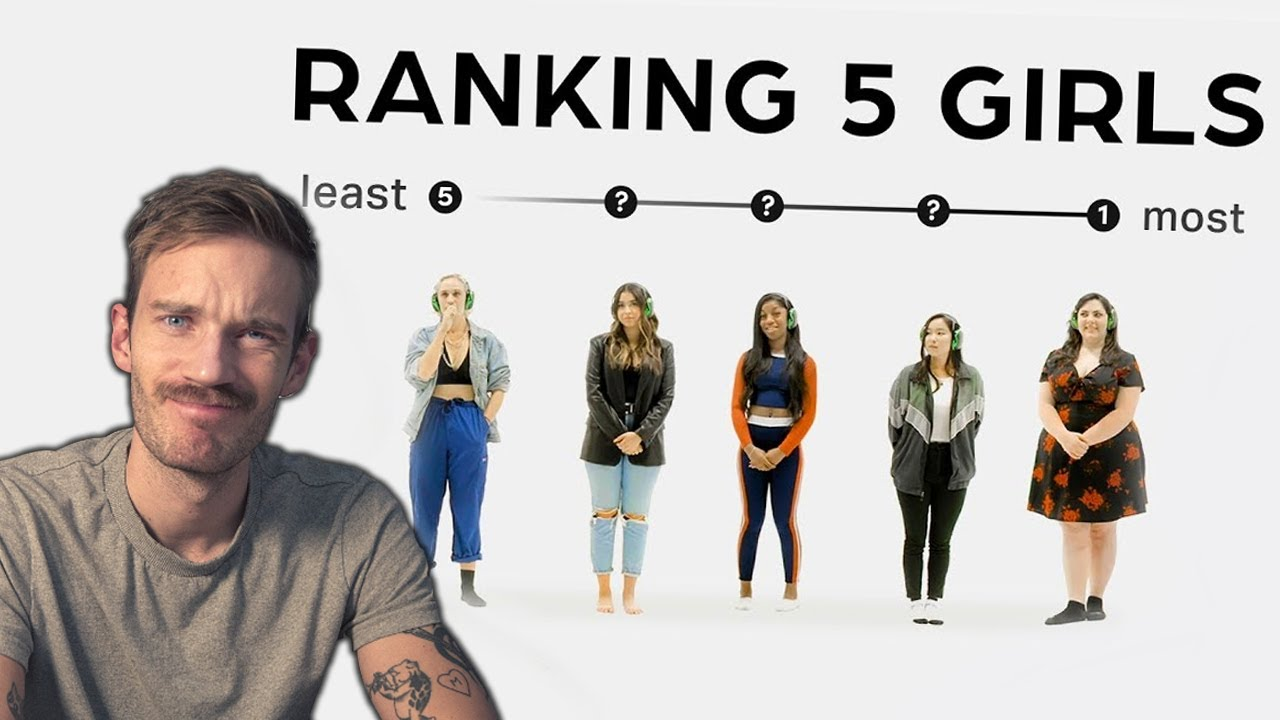 PewDiePie - Ranking Girls by Appearance