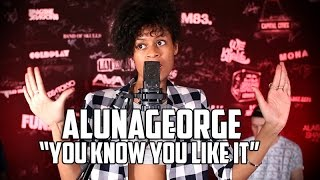AlunaGeorge 'You Know You Like It'  LIVE at 97.1 AMP Radio