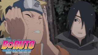 Sasuke Talks to Young Naruto | Boruto: Naruto Next Generations