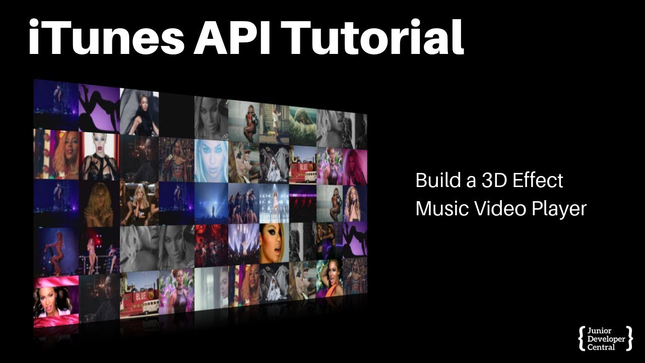 Download thumbnail for iTunes API Tutorial: Creating a 3D