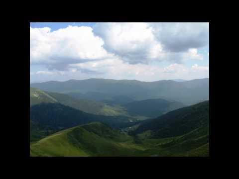 Energy of Love. Carpathian Mountains