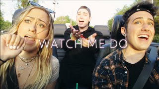 """Watch Me Do"" - Meghan Trainor [Gorenc siblings cover while driving]"