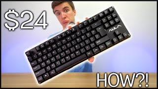 REAL Mechanical Keyboard for $24!!