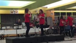 Lindsey and Bethanie cover Give it Up from Victorious