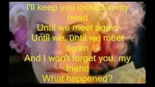 pink-who knew lyrics