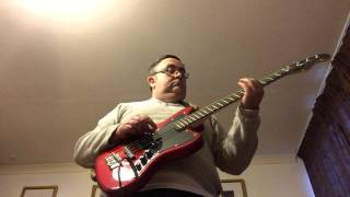 Parklife by Blur. Bass cover