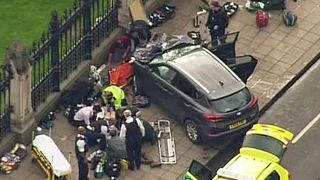 Suspect used vehicle as weapon in London attack