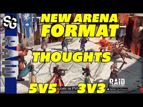 RAID SHADOW LEGENDS | 1.15 NEW ARENA FORMAT THOUGHTS