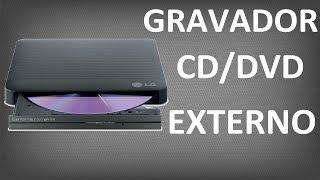 Leitor/Gravador de CD/DVD Externo - CONHEÇA