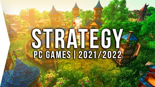 30 New Upcoming PC Strategy Games in 2021 & 2022 ► RTS, Turn-based, 4X & Real-time Base-building!