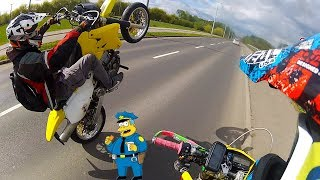 Hooligans in the City | DRZ | Supermoto