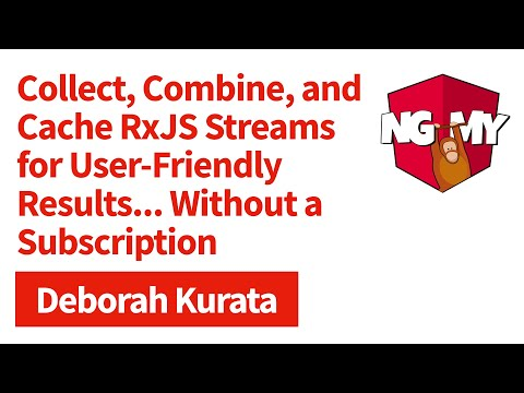 Collect, Combine, and Cache RxJS Streams for User-Friendly Results...