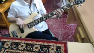 "Bass cover ""Gotta Go Home"" - Boney M.  ,1979"