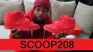 78868d625 Nike Air Yeezy 2 Red October Real Vs Fake