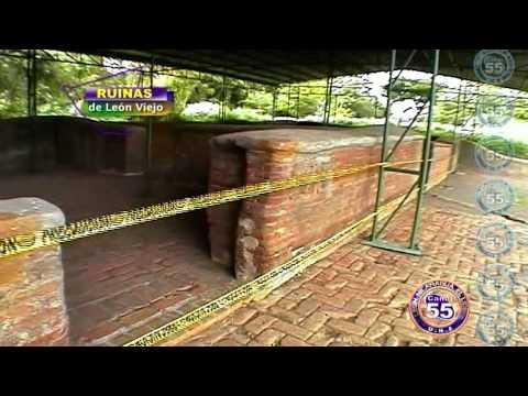 Ruinas de Leon Viejo en Nicaragua descubiertas en 1967