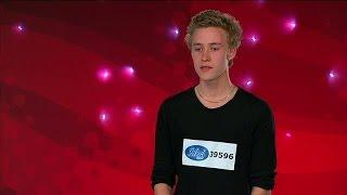 Pontus Svensson - Through glass - Idol Sverige (TV4)