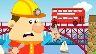 London Bridge Is Falling Down 🌉 🌉 | Nursery Rhyme With Lyrics | London Bridge Is Falling Down Song